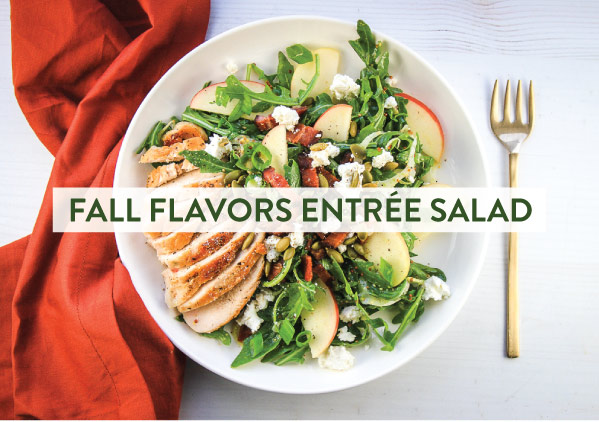Fall Flavors Entree Salad