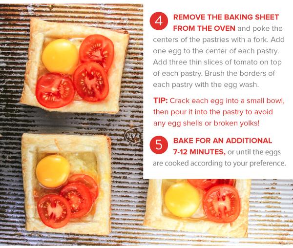 Savory Breakfast Tarts