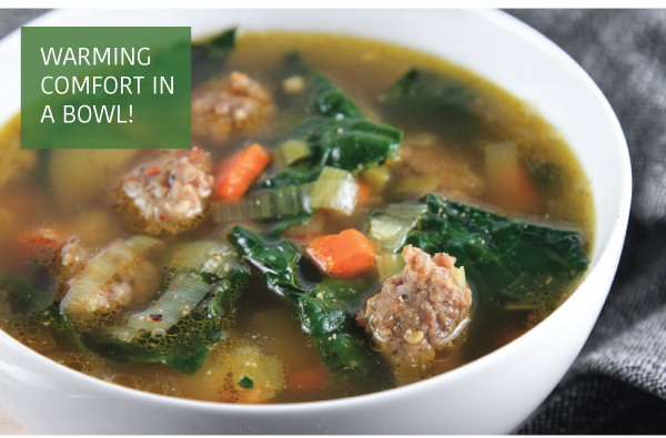 Sausage-Kale Soup