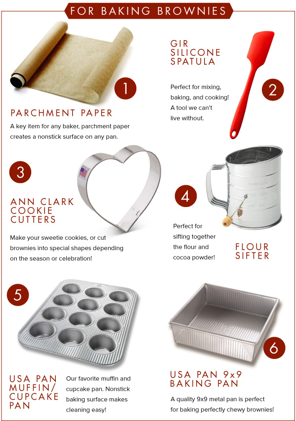 For Baking Brownies