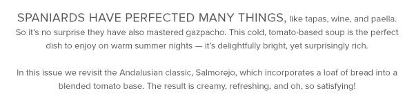 Spicy Salmorejo Gazpacho