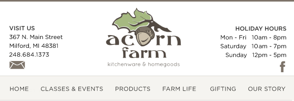 Dec 1 2016 Celebrate With Holiday Appetizers Acorn Farm