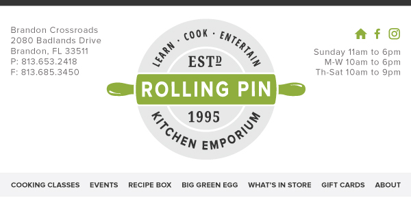 Rolling Pin Kitchen Emporium