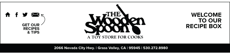 Wooden Spoon Grass Valley